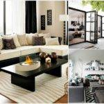 Gorgeous Black White Living Room Designs