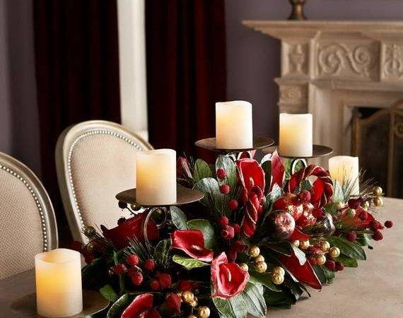 Gorgeous Christmas Floral Arrangements Holiday