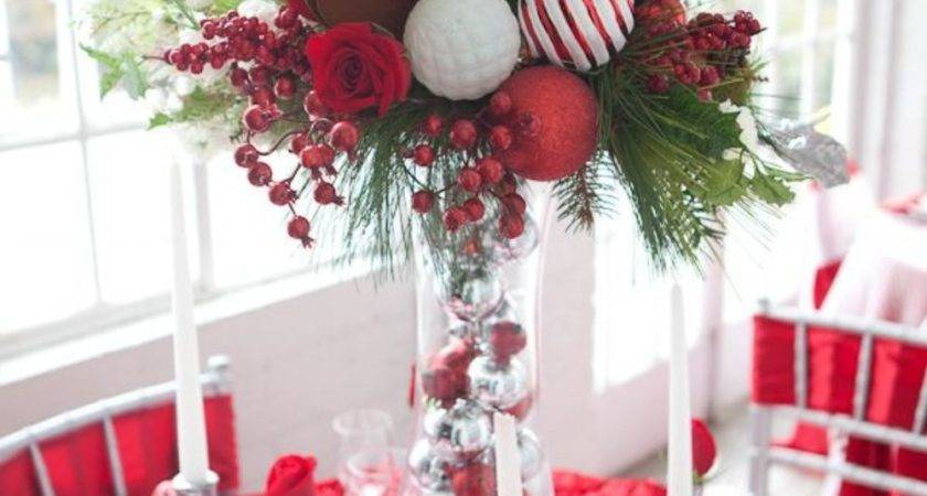 Gorgeous Christmas Tablescapes Centerpiece Ideas