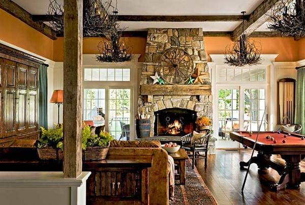 Gorgeous Country Home Decorating Sustainable Design