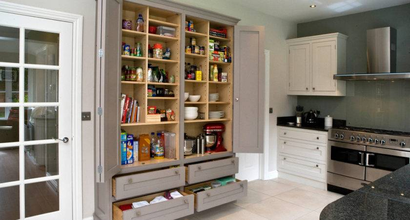 Gorgeous Freestanding Pantry Cabinet Kitchen