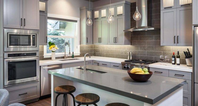 Gorgeous Gray Kitchen Hgtv
