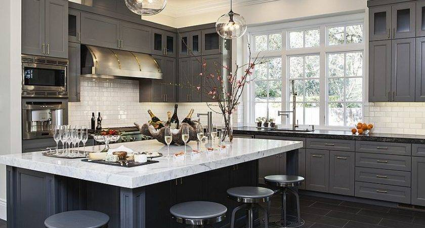 Gorgeous Gray Kitchens Usher Trendy Refinement