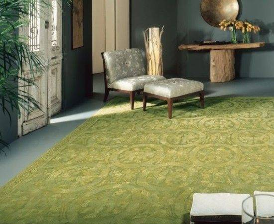 Gorgeous Rooms Decorate Green Rugs