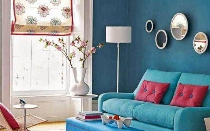 Gorgeous Turquoise Living Room Decorations Designs