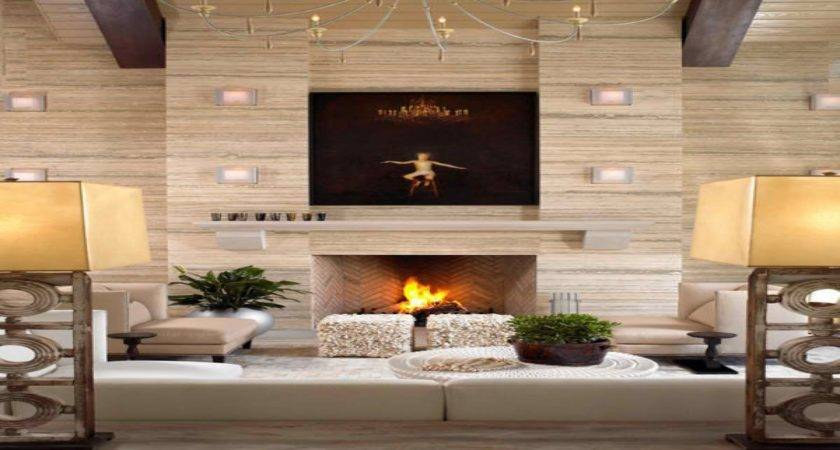 Gothic Room Ideas Modern Fireplace Wall Designs
