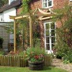 Grange Japanese Patio Pergola Sturdy Fsc Pressure Treated