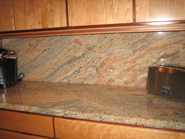 Granite Splashback Kitchen Design