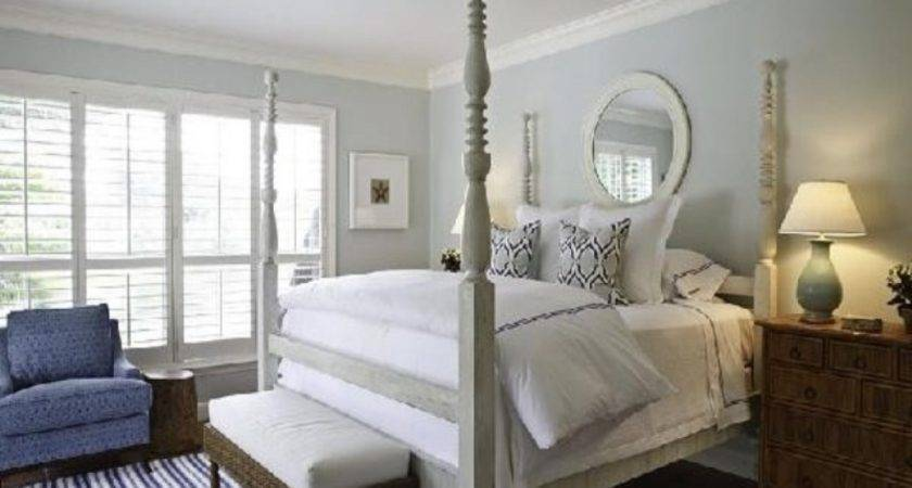Gray Bedroom Decor Blue