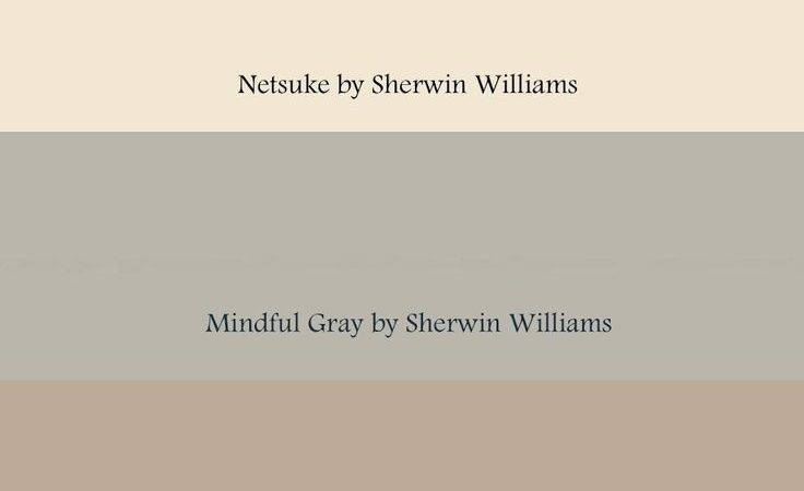 Gray Beige Color Combination Netsuke Mindful