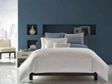 Gray Blue Bedroom Beautiful Homes Design