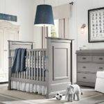 Gray Blue Boys Nursery Design Interior Ideas