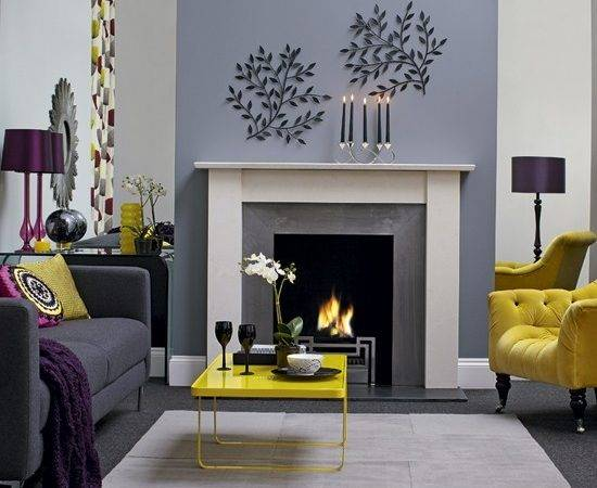 Gray Blue Yellow Living Room Info Home Furniture