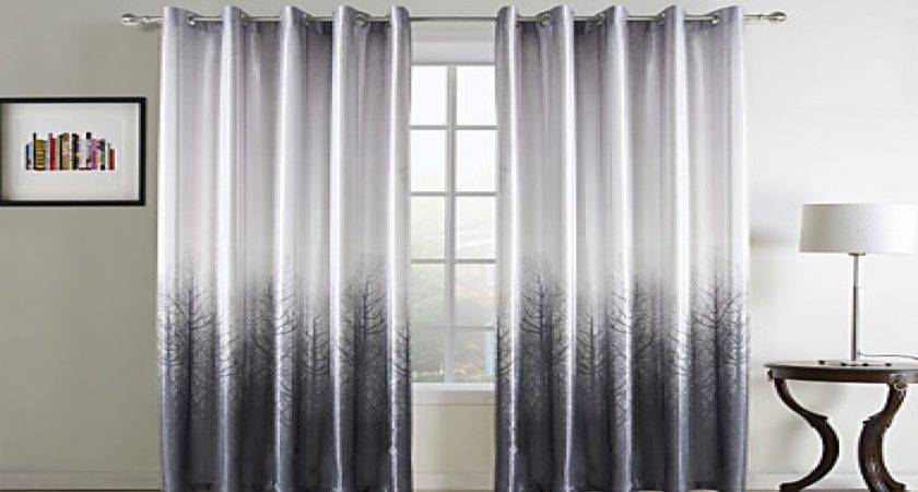 Gray Curtains Living Room Decorative