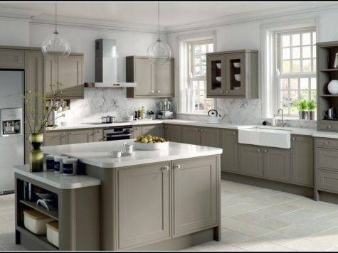 Gray Kitchen Cabinets Wall Color Ideas Savae