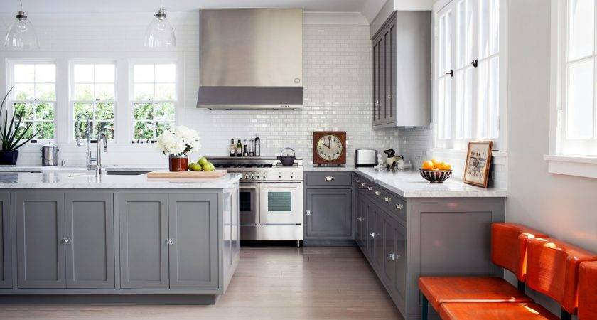 Gray Kitchen Round Little Dekonings