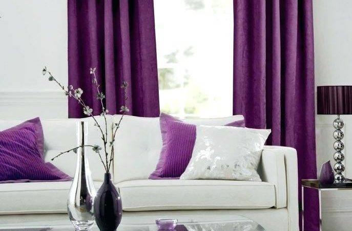 Gray Purple Bedroom Curtains Nordicbattlegroup