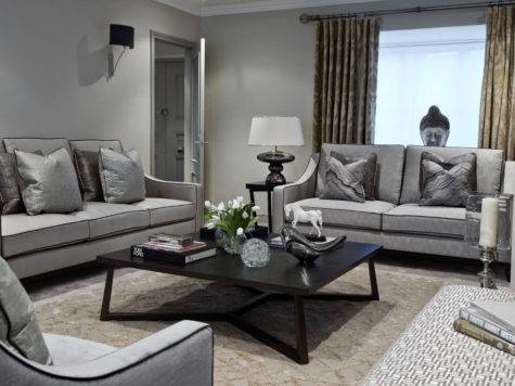 Gray Sofa Living Room Furniture Designs Ideas Plans