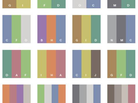 Gray Tone Color Schemes Combinations