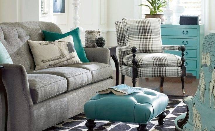 Gray Turquoise Living Room Decorating Ideas Modern