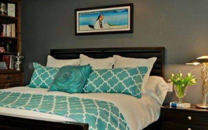 Gray Walls Teal Accent Yes Like Combo Now