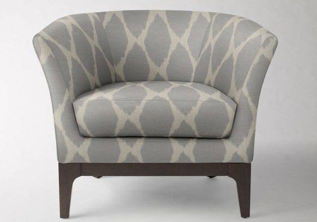 Gray White Accent Chairs Kbdphoto