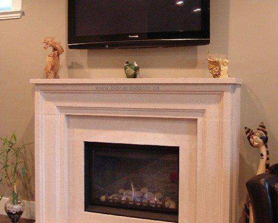 Great Contemporary Fireplace Mantel Home Design