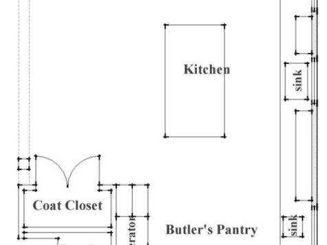 Great Kitchen Plan Entire
