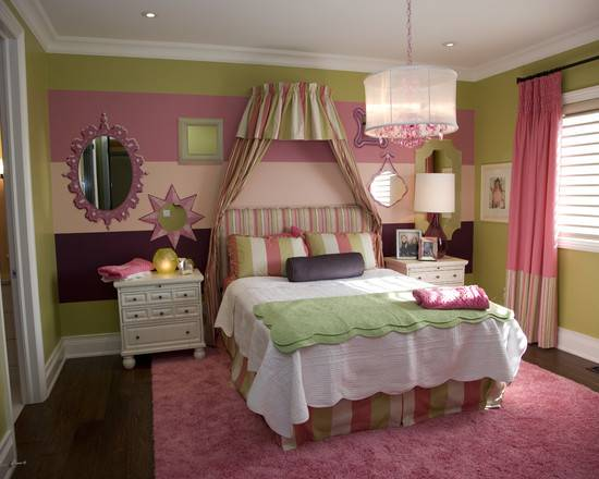 Great Little Girl Bedroom Color Beautiful Homes Design