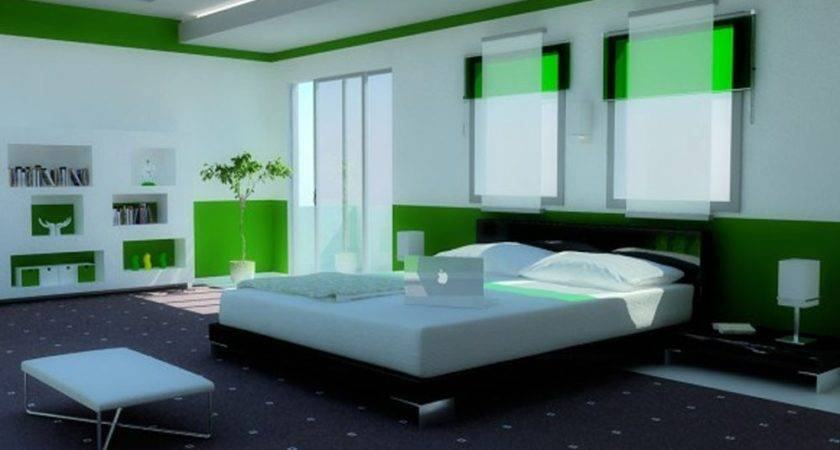 Green Bedroom Decor Furniture Decorations Interior Design