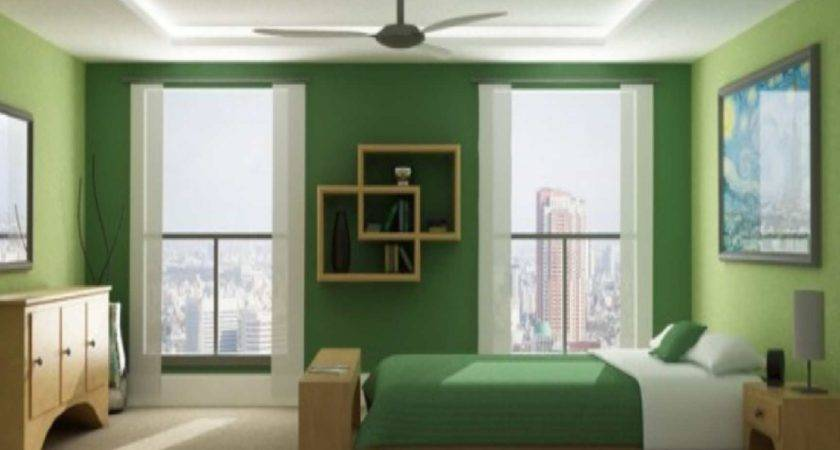 Green Bedroom Inside Interior Design Ideas