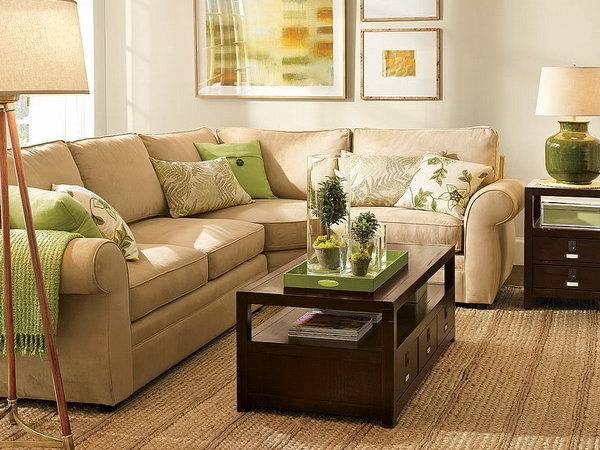Green Brown Decoration Ideas