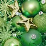 Green Christmas Decoration Stockarch