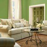 Green Colour Combination Living Room Peenmedia