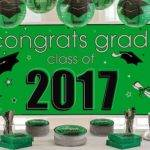 Green Congrats Grad Graduation Decorations Party City