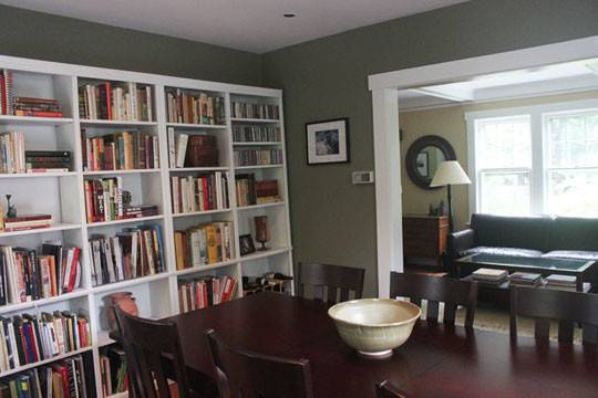 Green Gray Dining Room Miriam Stern Color Consulting