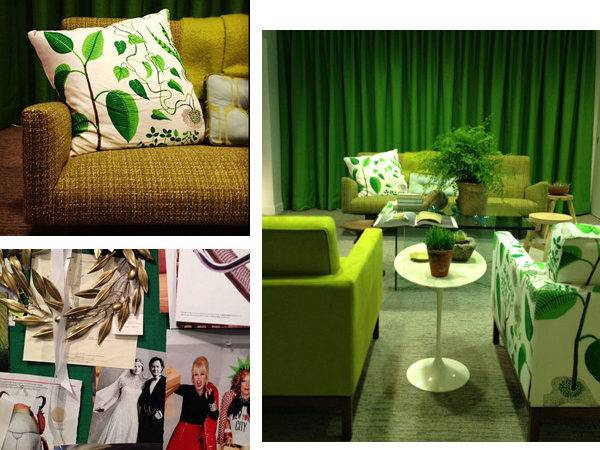 Green Interior Design Designs Modern