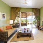 Green Minimalist Living Room Paint Color Scheme Home Ideas