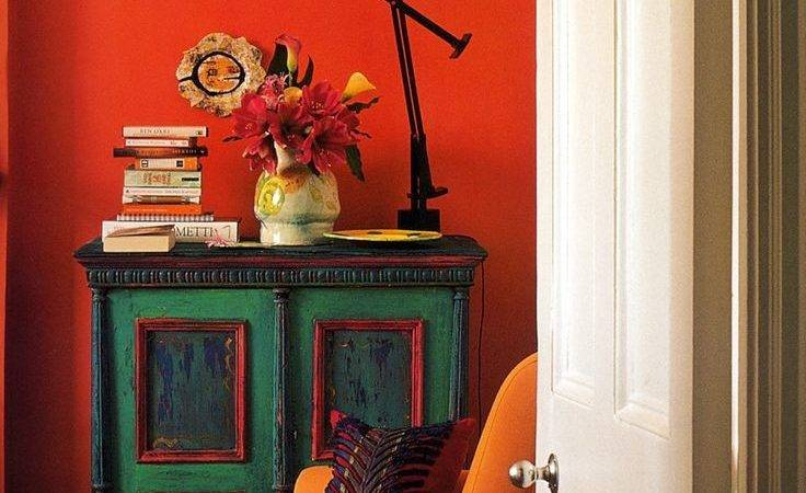 Green Orange Living Room Imgkid