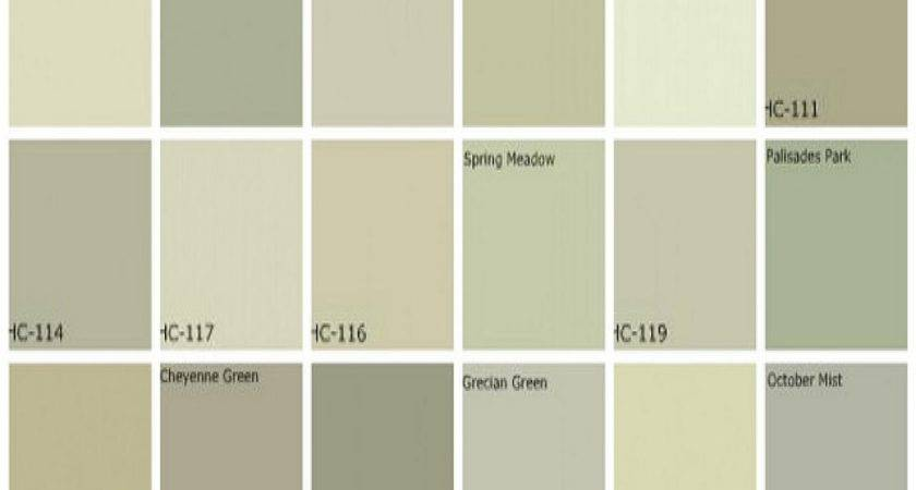 Green Paint Colors Gray Grey