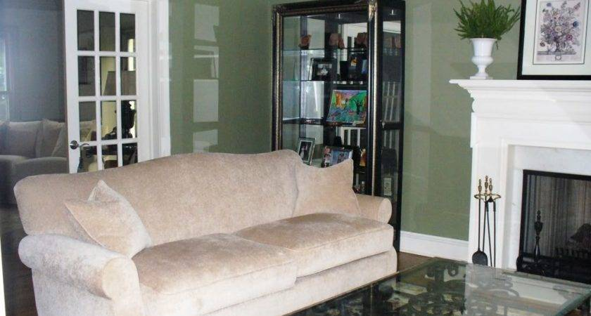 Green Paint Colors Living Room