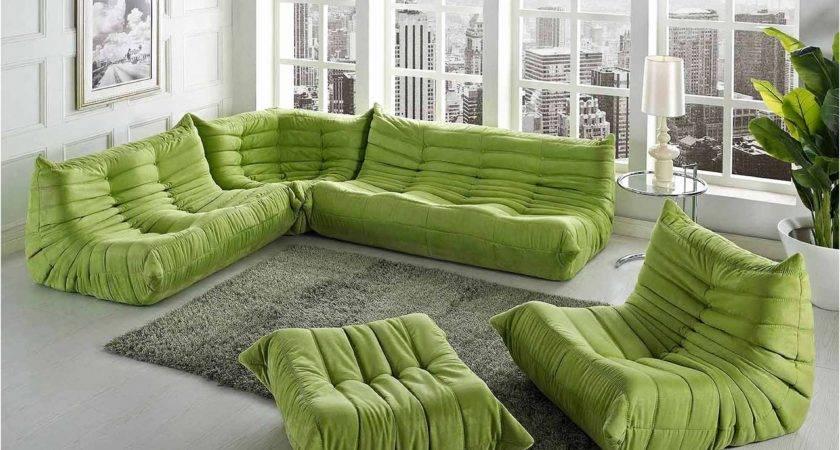 Green Sofa Set Brilliant Modern Minimal Design