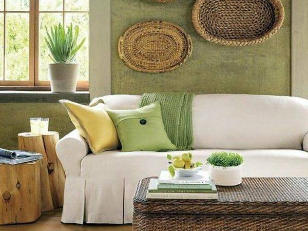 Green Wall Color Can Reached Trendy Decor