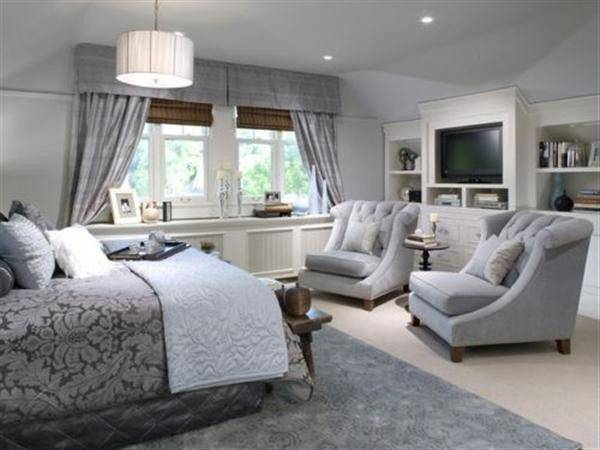 Grey Bedroom Romantic Hitez