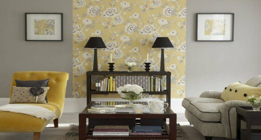 Grey Bedrooms Decor Ideas Gray Yellow Brown Living Room