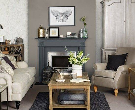 Grey Brown Living Room Home Decorations