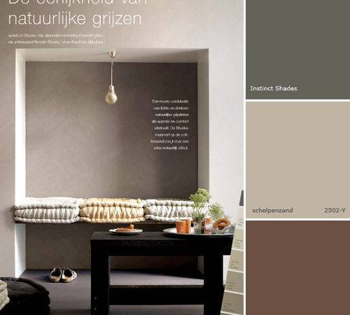 Grey Brown Paint Colours Style Files