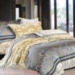 Grey Gold Comforter Sets