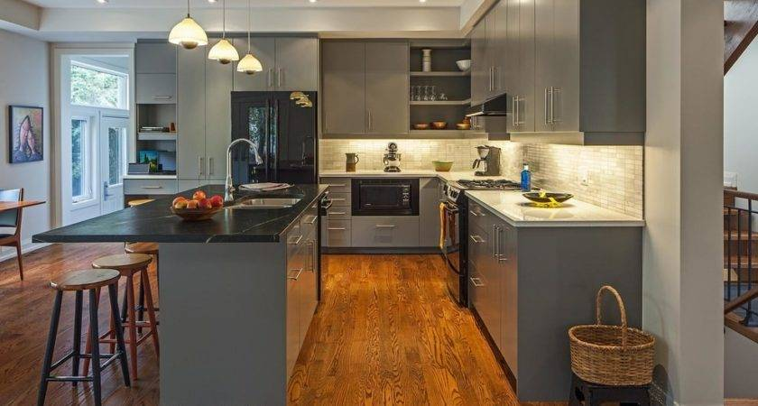 Grey Kitchen Cabinets Designs Decorating Ideas