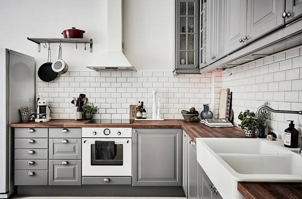 Grey Kitchen Designs Ideas Cabinets Photos